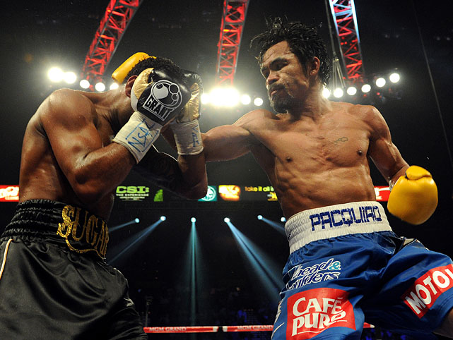 Pacquiao landed 182 of 552 shots, compared to just 82 of 260 for Mosley.