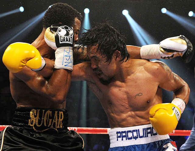 Pacquiao connected on 134 of 284 power punches, or 47.2 percent.