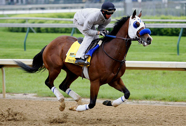 His sire, Afleet Alex, won the Preakness in 2005, so there's hope that some Pimlico magic is in his blood. Sway Away failed to make the Kentucky Derby because of a lack of earnings, but his fourth-place finish at the Arkansas Derby, where he led for a short stretch before fading late, could inspire some hope. Off the right pace, he could find himself in the mix again. But it'll take a few breaks for Sway Away to finish near the front.