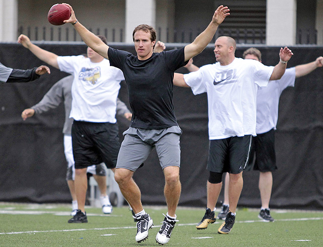 We know where Reggie hasn't been -- the football field. While Drew Brees and the rest of his Saints teammates hold their own organized workouts at Tulane during the lockout, Reggie has stayed away. Some believe it's a strong indication Reggie won't be back in New Orleans. Bush, who has missed 20 games in five years due to injury (including 8 in 2010), is due $11.8 million in 2011, and the Saints expect him to take a pay cut if he wants to stay.