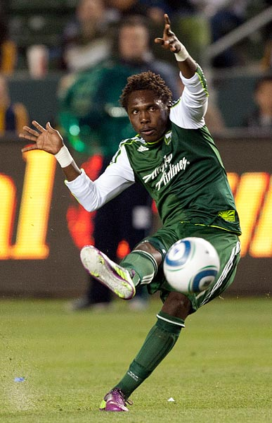 Heralded rookie Darlington Nagbe and prodigal son goal-getter Kenny Cooper stole all the pre-season praise in the Rose City, but make no mistake: this 20-year-old Ghanaian and all his midfield spunk has meant a lot to the Timbers' promising start. He wasn't a starter to begin the year but reacted well to coach John Spencer's tough love tactics. Alhassan got serious about being a two-way player and now he's really got the chain saws buzzing around JELD-WEN Field.