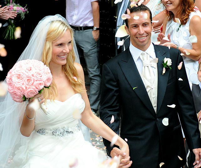 Vaidisova was once ranked as high as No. 7 in the world, but she retired after marrying Stepanek in 2010.
