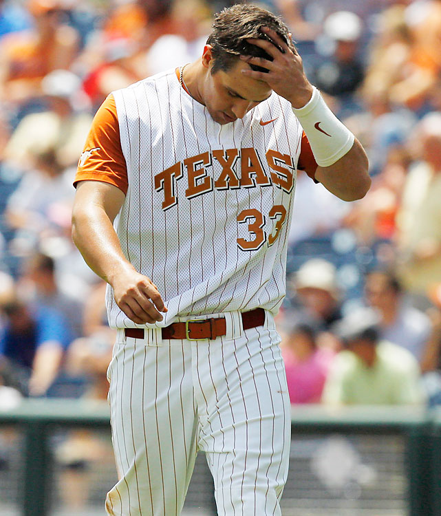 Jonathan Walsh and the Longhorns were eliminated. Texas, the all-time winningest NCAA program, was making its seventh College World Series appearance since 2000.