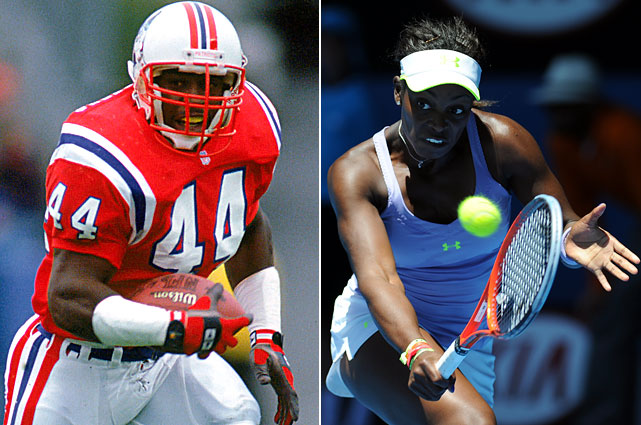 Sloane Stephens was the talk of the 2013 Australian Open after upsetting tournament favorite Serena Williams in the quarterfinals. Her late father, John, was a Pro Bowl running back for the New England Patriots.