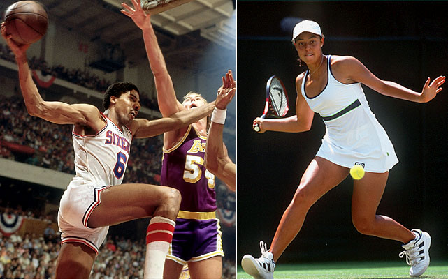 It was during Alexandra Stevenson's run to the Wimbledon semifinals in 1999 that NBA Hall of Famer Julius Erving publicly acknowledged being her biological father after having an extramarital affair with a sports writer in Philadelphia when Erving starred there for the 76ers. Stevenson won over $1 million in prize money as a professional tennis player.