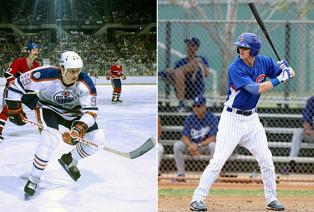 In June 2011, the son of NHL legend Wayne Gretzky, first baseman Trevor Gretzky, was drafted by the Chicago Cubs in the seventh round of the second day of the MLB Amateur Draft.