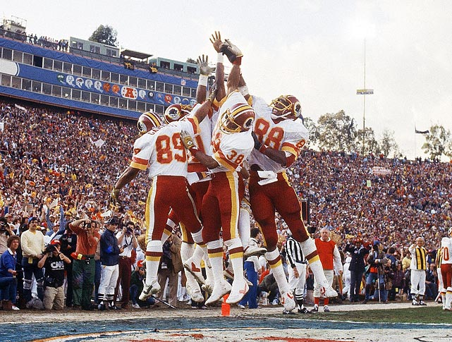 "A subset of the Wild Bunch, the Smurfs were a group of diminutive wide receivers for the Redskins in the 1980s. Alvin Garrett (5-7), Virgil ""Papa Smurf"" Seay (5-8) and Charlie Brown (5-10) helped Washington reach two Super Bowls (winning one) in their time together."