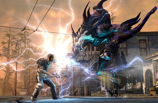 In the sequel to one of the PS3's better exclusive titles, InFAMOUS 2 resumes the adventures of Cole MacGrath. MacGrath, a man mysteriously granted super powers, is trying to collect even more powers as he prepares for a showdown with the all-powerful Beast. The game is set in an open-world town called New Marais, which looks a lot like a beat-up version of New Orleans. The campaign has a solid story and characters driving you through primary and side missions, so there's always something to do, but the path you take is very flexible.   As you interact with the people in New Marais, and in picking your missions, you can choose to take good or evil actions. The outcome of your decisions gives you access to different missions and a different ending to the game, which adds great replay. MacGrath's powers ramp up nicely as the game progresses, and you get a solid feel for the damage he inflicts on enemies. Jumping, gliding and climbing around New Marais is very entertaining.  InFAMOUS 2 has impressive sound effects and graphics. There are some minor camera issues, especially in melee and up close combat, but you can work around them.  Score: 9 out of 10