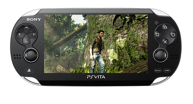 Sony's big E3 reveal was PS Vita, the successor to the PlayStation Portable (PSP). Vita features an impressive looking 5-inch OLED (960x544) touch-screen. The unit features dual analog sticks, a rear touch pad, front and rear facing cameras, a mic and speakers, and a sixais motion sensor and GPS. The sensor and cameras will allow the Vita to feature augmented reality games where you typically point the unit in the real world to reveal and interact with on-screen elements.  Sony hasn't revealed the final launch lineup, but it is already promoting the following noteworthy PS Vita titles: Uncharted: Golden Abyss (pictured), HotShots Golf, Wipeout, Sound Shapes, Little Big Planet, ModNation Racers and Super Stardust Delta. Games will be available as digital downloads and on flash memory cards. No prices have been released for software or memory storage.  Sony hasn't set an official release date for PS Vita, but the device could ship before the end of the year. The Vita will be available in two models, Wi-Fi ($249) and 3G ($299) via AT&T.