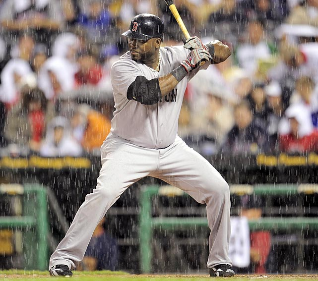 David Ortiz pinch hits against Pittsburgh on June 24 in the Pirates' 3-1 home win. The Pirates would take two of the three games during the weekend.