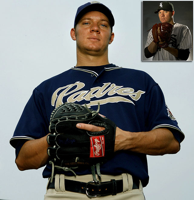 Pitcher Jake Peavy was picked by the Padres in the 15th round out of high school in 1999. Five years later he went 15-6 with a 2.24 ERA and three seasons after that he won the NL Cy Young Award.