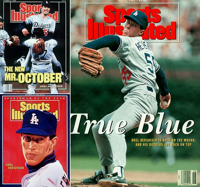 Nine years after being selected in the 17th round of the 1979 Draft, Orel Hershiser led the Dodgers to the 1988 title. The right-hander, who won the Cy Young Award that year, had two victories in Los Angeles' 4-1 series win over Oakland.