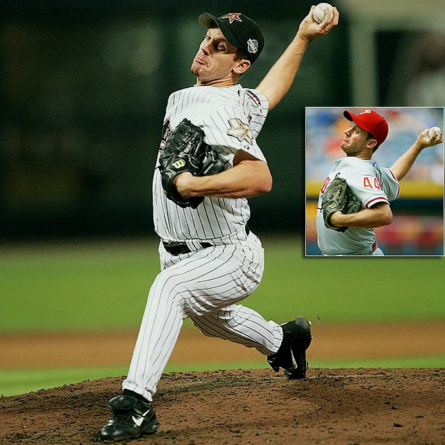 Oswalt, who played more than four seasons in the minor leagues, made a big splash in his rookie year with the Astros, going 14-3 with a 2.73 ERA. The Mississippi native has since made three All-Star appearances and was named the 2005 NLCS MVP.