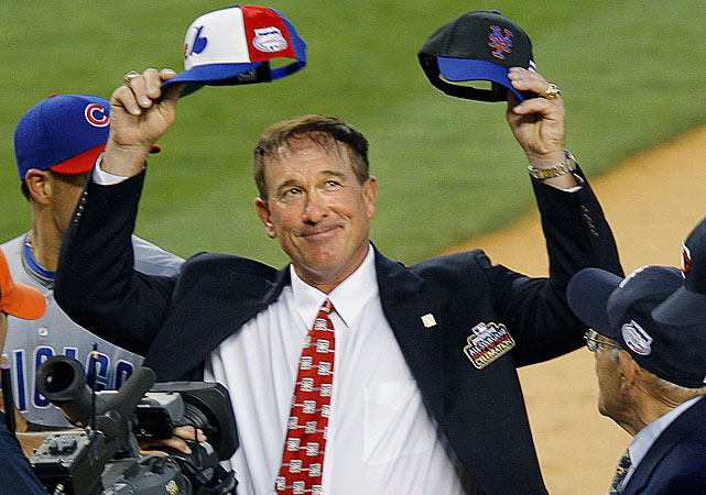 The Hall of Fame catcher, who was diagnosed last May with a malignant brain tumor, died at age 57 on Feb. 16, 2012. In this gallery, SI.com offers an appreciation of his career and passion for the game:   Carter holds up a Mets hat and an Expos hat during the opening ceremonies at the 2008 All-Star game at Yankee Stadium. He played 12 of his 19 seasons with the Expos and five with the Mets.