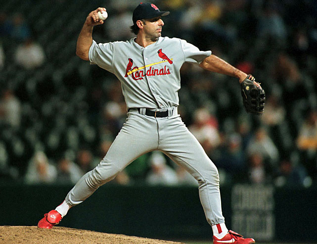MVP of the 1987 World Series Champions, Gary Gaetti pitched three games in his career. He faced 14 batters and allowed five hits, two runs, and one homer. The third baseman pitched for both the Cardinals and the Cubs.