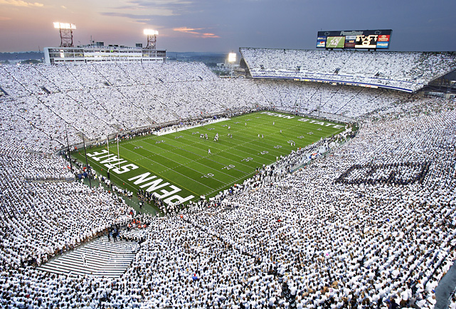All-time record:  818-357-42   National titles:  2 (1982, 1986)   Heisman Trophy winners:  1 (John Cappelletti, 1973)   Beaver Stadium capacity:  107,282   Average recruiting ranking:  27.6