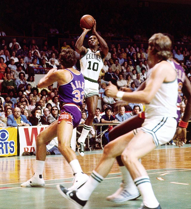 The often underrated White was the MVP of the Celtics' 4-2 victory over the Suns. He scored 21.7 points per game, but really stood out in Game 5 -- often called the best game in NBA history. In the triple-overtime thriller, White scored 33 points, had nine assists and played for 60 minutes.