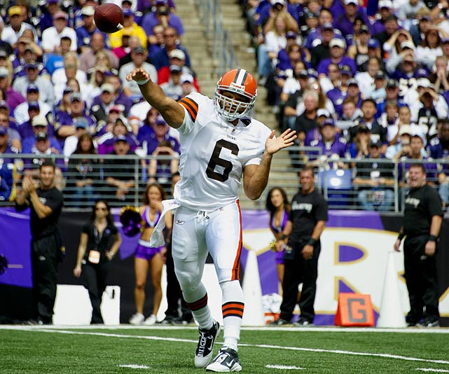 Wallace covered well for Matt Hasselbeck when he went down in 2008 with an injury. Since going to Cleveland he's been sandwiched between veteran Jake Delhomme and Colt McCoy, whom the Browns would love to make a franchise player.