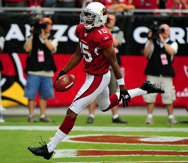 Behind Anquan Boldin and Larry Fitzgerald, Breaston put up some pretty respectable numbers. A few years ago he had 1,006 receiving yards; he has amassed more than 700 in each of the past two years.