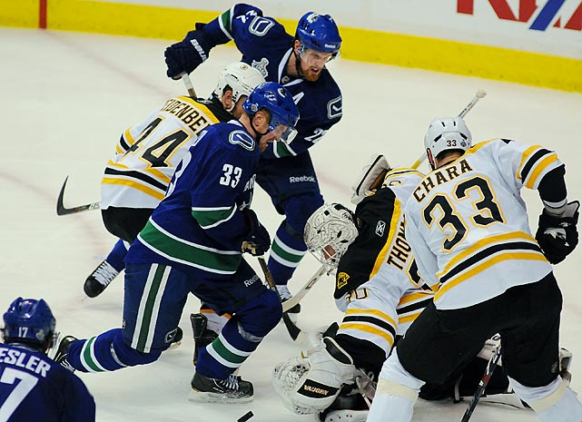 Daniel was the NHL's leading scorer during the regular season (41 goals, 104 points) and twin brother Henrik ranked  fourth (94 points), but in the Stanley Cup Final, the Canucks' high-powered pair was limited to a combined five points in seven games by a rugged Boston Bruins defense led by the towering Zdeno Chara and the stellar goaltending of Tim Thomas. Here are other instances of NHL stars struggling on hockey's biggest stage.