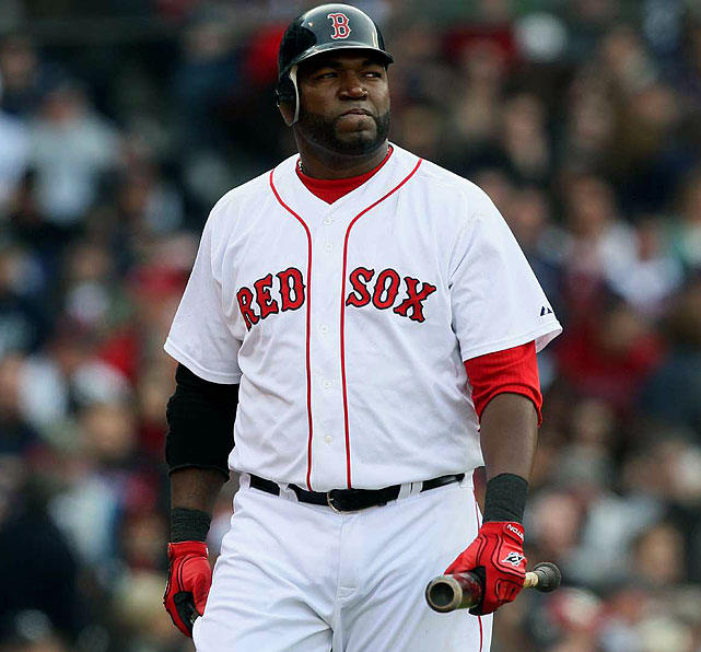 In 2009 a  New York Times  report claimed Ortiz tested positive for performance-enhancing drugs in 2003. Since then his endorsements have declined, ultimately leading to him missing this year's list.
