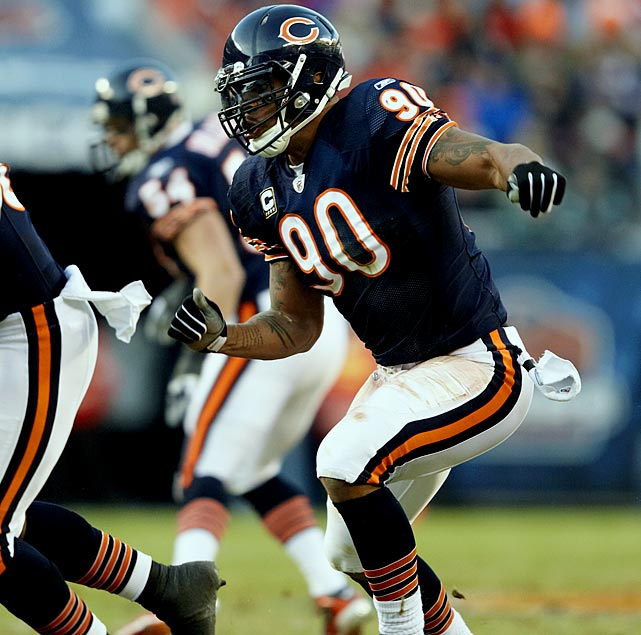 Peppers was due a $10.5 million signing bonus this year, but that was before the lockout. The Bears restructured his contract so the bonus will prorate over the course of the contract, which runs out in 2015.