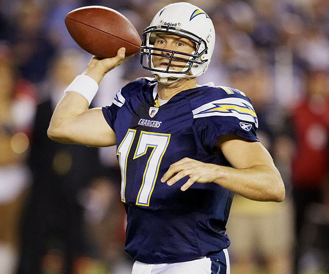 Philip Rivers' six-year contract extension in 2009 earned him a $13 million signing bonus, but without the same bump in pay this year, Rivers fell out of the Fortunate 50.