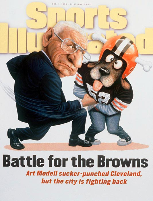 It has been more than 15 years since Cleveland Browns owner Art Modell announced that he was moving the franchise to Baltimore, but the hatred Clevelanders still hold for Modell is possibly matched only by their feelings about LeBron James.