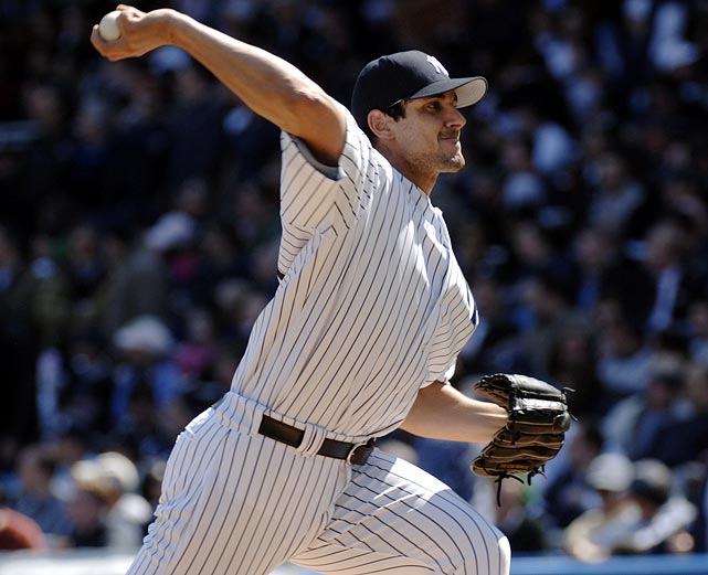 "In 2005, the Yankees gave Marlins pitcher Carl Pavano $40 million to sign with New York. In return, Pavano went 9-8 with a 5.00 ERA in his three injury-plagued seasons, earning the nickname ""The American Idle."""
