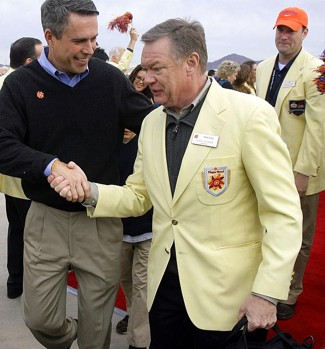 The former CEO of the Fiesta Bowl, John Junker was disgraced after it was revealed he had misused company expenditures and coerced employees into making donations to select politicians. After a 2011 investigation, Junker was fired. Luckily for the Arizona economy, the BCS has allowed the Fiesta Bowl to maintain its place in the prestigious bowl lineup.