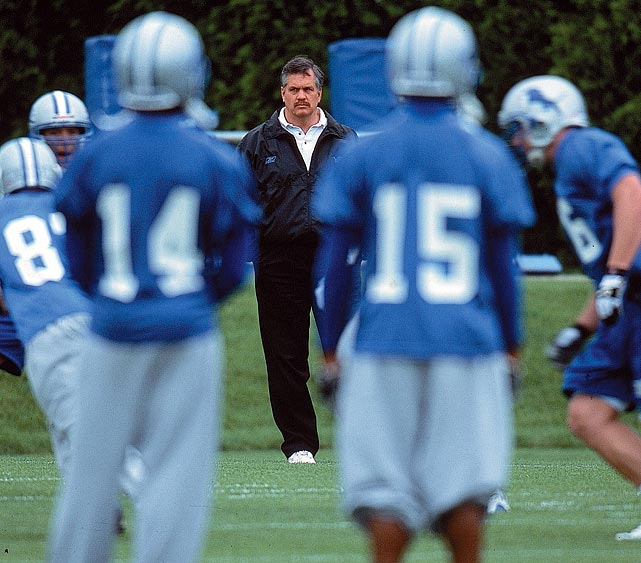 "Matt Millen's seven-year tenure as CEO of the Detroit Lions was one of the least successful in NFL history. Under him, the team went 31-81 and had a number of its draft picks flop, causing the Detroit fans to turn on their team's de facto general manager.  ""Fire Millen"" signs were held at sports games across the country, and multiple walkouts were held during Lions' games. Millen was eventually fired after the team started 0-3 in 2008."