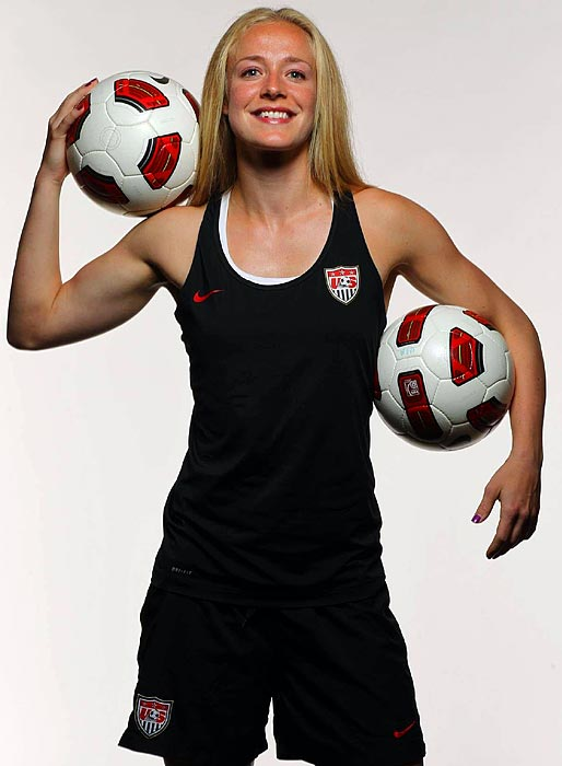 Capped just three times before this year, Sauerbrunn has joined the U.S. mix with five starts in 2011. Her trip to Germany ended her WPS iron-woman streak -- she had played every minute of every game for her club team since '09.