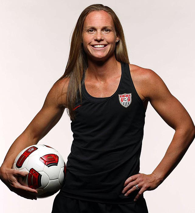 The U.S. co-captain and the only mother on the 2011 squad, Rampone is the last holdover from the World Cup--winning team of 1999 (she played in one match in that tournament) and the most-capped active player in the world. Quick on her feet and leading by example, she's the backbone of the Americans' defense.