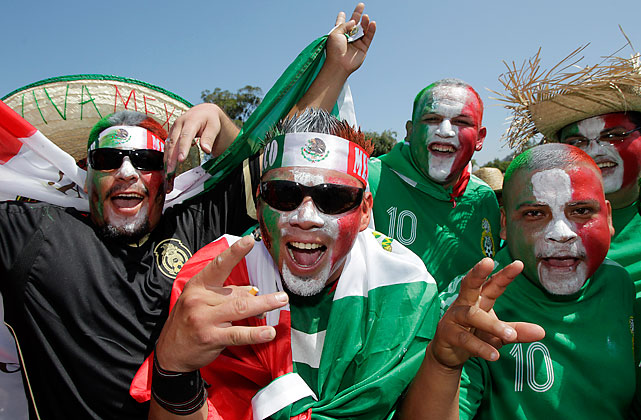 Mexican fans were hoping to see their third straight win against the U.S. and second straight on U.S. soil.