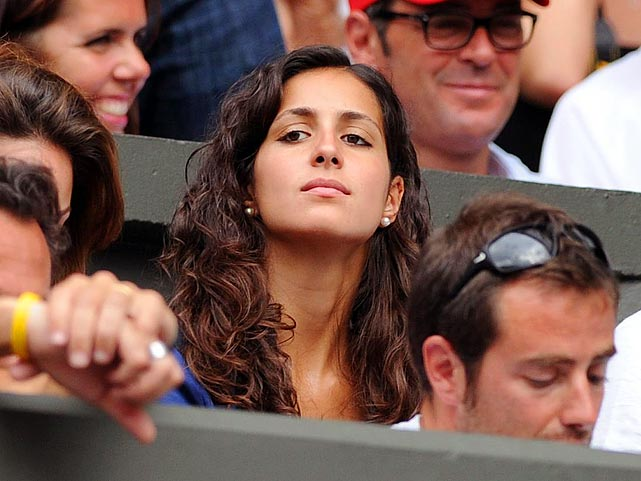 Girlfriend of Rafael Nadal