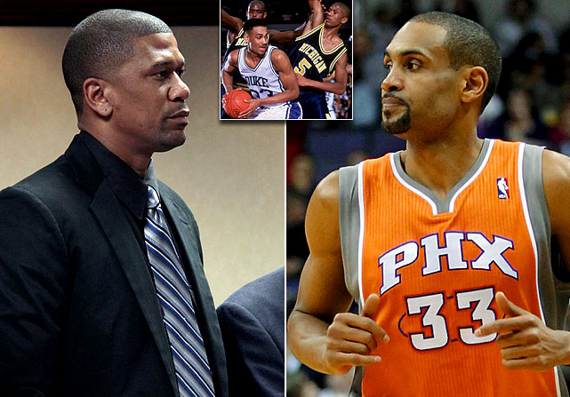 """Former NBA player and member of the famed Michigan Fab 5, Jalen Rose sparked controversy with his statements in an ESPN documentary about the Fab 5. When discussing rival Duke, Rose said, """"I hated Duke and I hated everything Duke stood for. Schools like Duke didn't recruit players like me. I felt they only recruited black players that were Uncle Toms."""" Grant Hill, a former Blue Devil, responded with a strongly worded  New York Times  piece that defended his alma mater finishing with, """"I caution my fabulous five friends to avoid stereotyping me and others they do not know in much the same way so many people stereotyped them."""""""