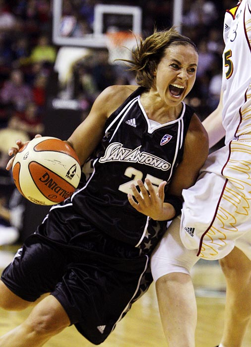 The Silver Stars looked poised for a run to the WNBA finals before they announced 2011 draft pick Jayne Appel would miss time with a minor meniscus tear. With her sidelined, even more pressure will fall on Hammon's shoulders. Indisputably the heart and soul of the Silver Stars, Hammon will have to keep the team afloat until Appel returns if they want to make a playoff push.