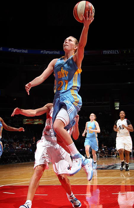 Vandersloot, the No. 3 pick in the 2011 draft, will likely find herself as the starting point guard in Chicago on Opening Day. As the only NCAA Division I player, male or female, to amass 2,000 career points and 1,000 career assists, she seems well suited for the task. Chicago has yet to crack the postseason since joining the league in 2006, but the Sky hope the combination of Vandersloot and star Sylvia Fowles will change all that in 2011.