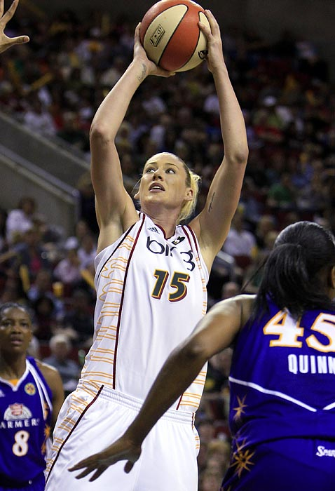 The 2010 regular season and finals MVP, Jackson and her Seattle Storm will look to pick up where they left off in 2010. With all-time great Katie Smith joining the already fearsome duo of Jackson and Sue Bird, the Storm should be well positioned to repeat as champions.