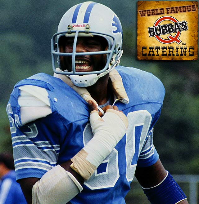 Al (Bubba) Baker had a standout 13-year career as a defensive end in the NFL. The league's Defensive Rookie of the Year in 1978 while playing for the Detroit Lions had been an excellent BBQ cook since he was a kid. He showed off his culinary talents by catering his team's airplane flights during his career. Naturally, when he retired he started a BBQ restaurant and became the executive chef at Bubba Q's, a popular St. Louis-style joint in Akron, Ohio, that has won multiple awards.