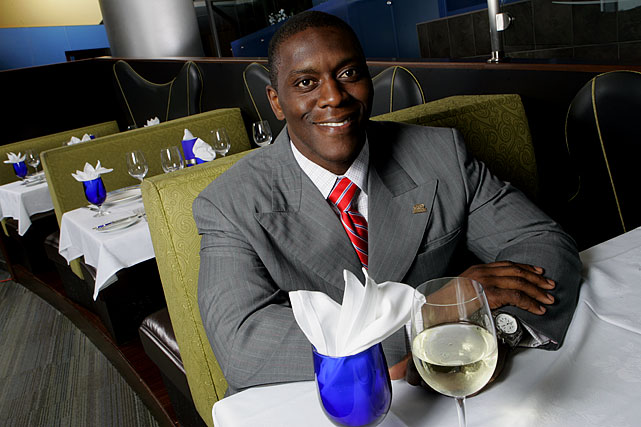 While many pro athletes and coaches have restaurants attached to their names, few are as immersed in the business as Porcher. The former Lions defensive end, a three-time Pro Bowl selection, is the brains behind three successful Motor City eateries -- Detroit Breakfast House and Grill, Grand City Grill, and The Woodward -- that were opened by Southern Hospitality Restaurant Group, a company he co-owns as Vice President with CEO Frank Taylor. Procher helps choose the music and decor, handles most of the business deals, and even learned to cook thanks to his being in the kitchen so often. His company also teamed up with Aramark Corp. to co-manage food-services for 231 public schools in Detroit.