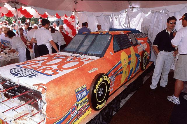A yummier version of Jeff Gordon's car.