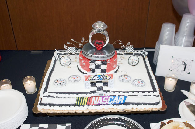 Some lucky lovebirds won this in a national promotion with NASCAR driver Carl Edwards.