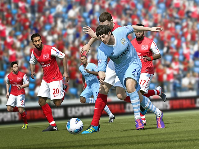The FIFA franchise returns to the pitch with an emphasis on making the game more like the real thing. Realism is being enhanced with four new systems; Pro Player Intelligence, Player Impact Engine, Precision Dribbling and Tactical Defending.  All four are designed to enhance the physics engine in the game and lead to more realistic movements, player reactions and precise ball control. The game we played was fairly fluid, and the passes seemed crisp and believable in their accuracy and results.   FIFA 12 is scheduled for a September 28 release date on the Xbox 360 and PS3.