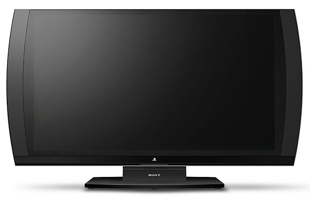"""And speaking of compatible TVs, Sony is targeting gamers with its' new PlayStation 3D display. The 24"""" LED monitor will feature 1080p 3D and a 240 HZ refresh rate. The TV has two HDMI inputs and one component input, and features built in speakers and subwoofer. The coolest feature of the TV is that two people viewing the display and wearing 3D glasses can see different views via an A/B toggle on the glasses. In the demo one person was able to call a pitch in MLB The Show from the pitchers' perspective while the other player simultaneously picked swing location from the hitters' view. Potentially applying this technology to other sports games like Madden, where play calling secrecy is paramount, is an exciting prospect. Sony plans to bundle the display with one pair of 3D glasses, a copy of Resistance 3 and an HDMI cable for $499."""