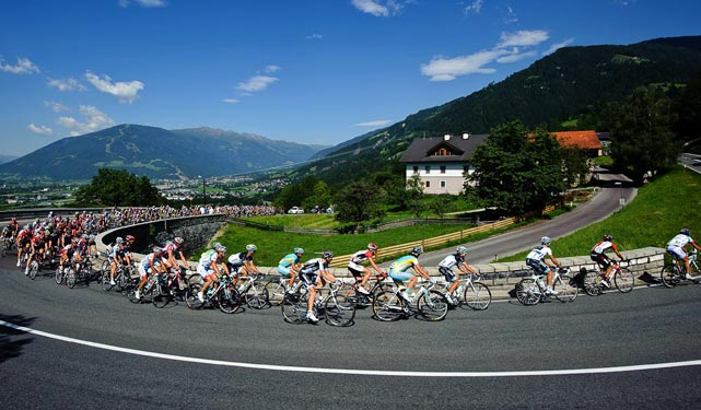 While the Tour de France takes over cycling news in July, the 63rd Tour of Austria lasts for a week with its longest stage (199.3 km) coming here in the fourth stage. Frenchman Alexandre Geniez would take the stage but Sweden's Fredrik Kessiakoff would go on to win the overall event.