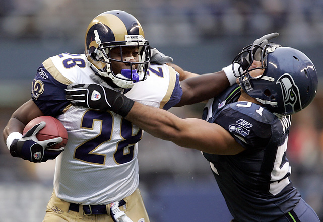 The 2005 season marked Faulk's final season in the NFL. Though he played in all 16 games, he only started one and had just 65 rushes the entire season. He was forced to miss the entire 2006 season due to reconstructive knee surgery.