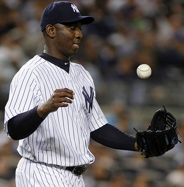 2010 Stats with Tampa Bay Rays (64 G, 62.1 IP):  3-2, 45 SV (3 BS), 57 K, 1.73 ERA, 0.80 WHIP   Last year with the Rays, Soriano had an AL-leading 45 saves. Now a setup man for the Yankees, Soriano is boasting a not-so-respectable 5.40 ERA and has been on the DL since May 14.
