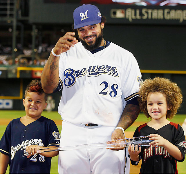 Prince Fielder became the first Brewer to win the All-Star Game MVP award.