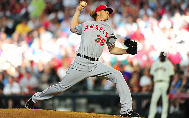 Angels right-hander Jered Weaver (11-4, 1.86 ERA) started for the AL and was done after one scoreless inning and 14 pitches.